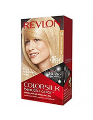 Revlon ColorSilk Beautiful Permanent Color, [04] Ultra Light Natural Blonde 1 ea