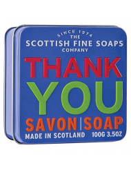 Scottish Fine Soaps Finest Triple Milled Soap for Women, Thank You, 3.5 Ounce