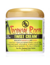 Bronner Brothers Tropical Roots Twist Cream, 6 Ounce