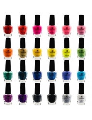 SHANY Cosmetics The Cosmopolitan Nail Polish Set (24 Colors Premium Quality and Quick Dry),  0.5 fl ounce each