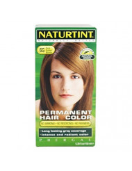 Naturtint, Permanent Hair Color, 6GDark Golden Blonde, 5.28 Florida Ounces. Pack of 1 Box.