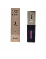 Yves Saint Laurent Rouge Pur Couture Vernis a Levres Glossy Stain Rose Vinyl for Women, 0.2 Ounce