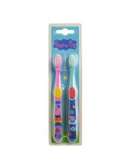 Peppa Pig Toothbrush Twin Pack - Colour May Vary