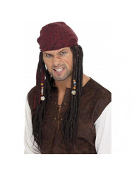 Smiffys Pirate Wig & Scarf