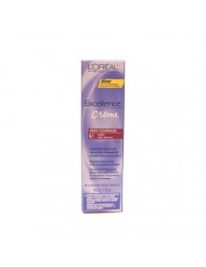 L'Oreal Excellence Creme Color # 6.1 Light Ash Brown 1.74 oz. (3-Pack) with Free Nail File