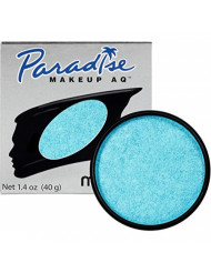 Mehron Makeup Paradise AQ (1.4 oz) (Brillant Bleu Bebe Light Blue)