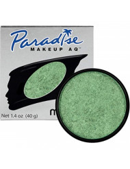 Mehron Makeup Paradise Makeup AQ Face & Body Paint (1.4 oz) (BRILLANT VERT BOUTEILLE GREEN)