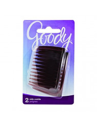 Goody Side Hair Combs, Mock Tortoise, 2-count