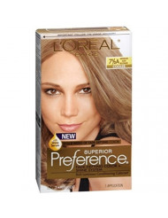 L'Oreal Superior Preference Hair Color [7-1/2A] Medium Ash Blonde (Cooler) 1 Each