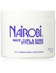 Nairobi Wave, Curl and Shine Styling Wax, 4.0 Ounce