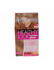 Loreal Healthy Look Creme Gloss Color, Dark Blonde 7, 1 ct (Pack of 3)