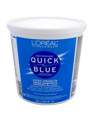Loreal Quick Blue Powder Bleach Extra Strength 1Lb. (473ml) (3 Pack)