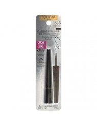 L'Oreal Paris Telescopic Precision Liquid Eyeliner, Carbon Black (Pack of 2)