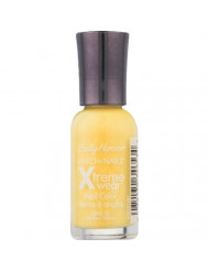 Sally Hansen Hard as Nails Xtreme Wear, Mellow Yellow [27], 0.4 oz (Pack of 4)