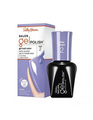 Sally Hansen Salon Pro Gel Nail Polish Lacquer, Purplexed, 0.24 Fl. Oz.