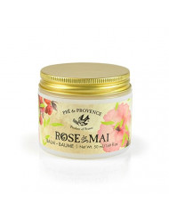Pre de Provence Balm to Alleviate & Help Heal Parched Skin to Soothe and Hydrate with Shea Butter, Sesame Seed Oil, Vitamin E & Botanical Rose Blend Fragrance (1.69 fl oz) - Rose De Mai