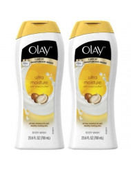 Olay Ultra Moisture Moisturizing Body Wash with Shea Butter - 23.6 oz - 2 pk