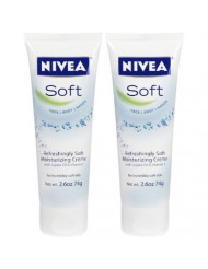 Soft Body Creme, 2.6 oz, 2 pk