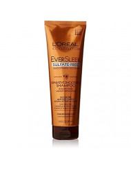 L'Oreal Paris EverSleek Sulfate-Free Smoothing System Reparative Smoothing Shampoo, Sunflower, 8.5 Ounces (Pack of 2)