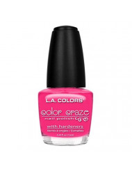 L.A. Colors Craze Nail Polish, Absolute, 0.44 Fluid Ounce
