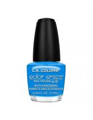 L.A. Colors Craze Nail Polish, Aquatic, 0.44 Fluid Ounce