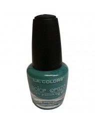 L.A. Colors Craze Nail Polish, Sea Foam, 1 Ounce