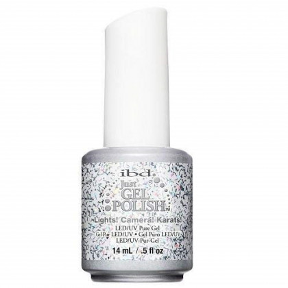 IBD Just Gel Polish Tinseltown, Lights Camera Karats, 0.5 Ounce