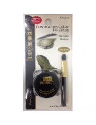 Black Radiance Continuous Creme Eye Color Water Resistant Vibrant Color Olive Ca 6444 (Bonus Brush)