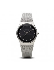 BERING Time | Women's Slim Watch 12927-002 | 27MM Ø Case | Classic Collection | Stainless Steel Strap | Scratch-Resistant Sapphire Glass | Minimalistic Danish Design