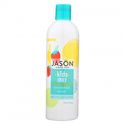 Jason For Kids Only! Extra Gentle Shampoo, 17.5 oz