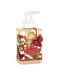 Mistletoe and Holly Foaming Hand Soap 17.8 oz Michel Design Works Gift