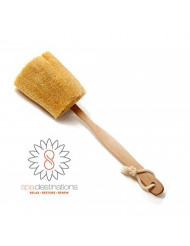 "The Utimate Loofah Back Brush with detachable handle by Spa Destinations""Creating The Perfect Bath and Shower Experience"" Best Quality! Best Value!"
