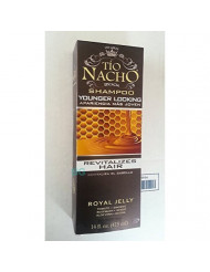 Tio Nacho Shampoo Younger Looking.. Royal Jelly Revitalizes Hair 14 oz (3 Pack)