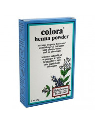 Colora Henna Powder Hair Color Light Brown 2oz (2 Pack)