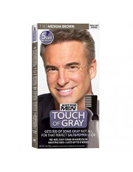 JUST FOR MEN Touch of Gray Haircolor T-35 Medium Brown, 1 Each ( Pack of 2 )