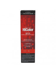 Loreal Excel Hicolor H08 Tube Red Fire 1.74oz (6 Pack)
