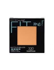 Maybelline New York Fit Me Matte + Poreless Powder Makeup, Toffee, 0.29 Ounce, 1 Count