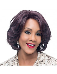 Vivica A. Fox GARDEN New Futura Fiber, Natural Baby Hair Lace Front Wig in Color 1B