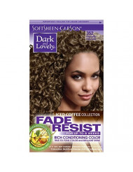 Softsheen Carson Fade Resist Rich Conditioning Color Iced Coffee Cool Latte - 352
