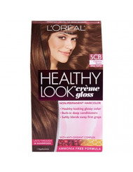 L'oreal Paris Healthy Look Creme Gloss (Pack of 3) (Chestnut Brown 5CB)