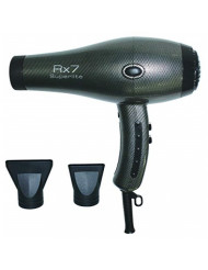 RX7 Superlite Ionic Tourmaline Hair Dryer, Silver, 56 Ounce