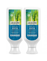 Jason Pure Natural Conditioner, Restorative Biotin, 16 Ounce (Pack of 2) by Jason Natural