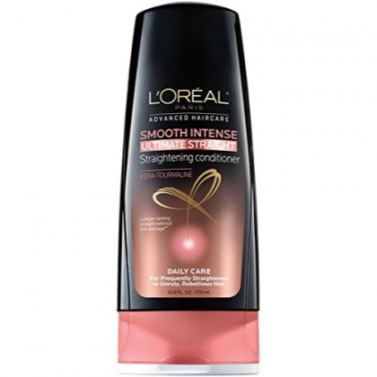 L'Oreal Paris Hair Expert Smooth Intense Ultimate Straight Conditioner, 12.6 fl. oz.