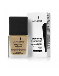 Careline Stay Long Make-up Spf10 Water Proof for 18hrs (602 Light Beige)