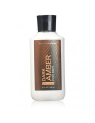 Bath Body Works Dark Amber 8.0 oz Body Lotion