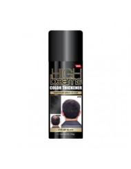High Beams Color Thickener Temporary Spray-On Hair - Jet Black 2.7 oz (3 pack)