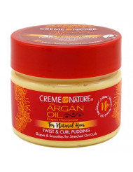 Creme Of Nature Argan Oil Twist & Curl Pudding 11.5 Ounce (340ml) (2 Pack)