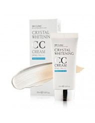 3W CLINIC Crystal Whitening CC Cream SPF 50 PA+++ No.2 Natural Beige