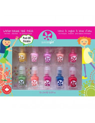 Suncoat Product Inc. Non Toxic Peelable Children's Nail Polish Set, Party Palette