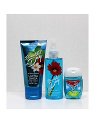 Bath and Body Works - Beautiful Day - On-The- Go - Gift Set